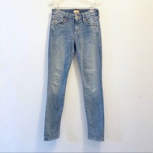 MOTHER The Looker Skinny JeansLight Kitty Size 24